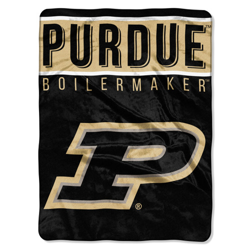Purdue Boilermakers Basic Raschel Throw Blanket