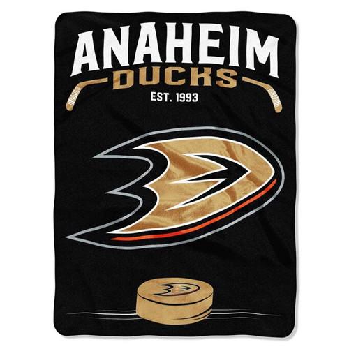 Anaheim Ducks NHL Inspired Raschel Throw