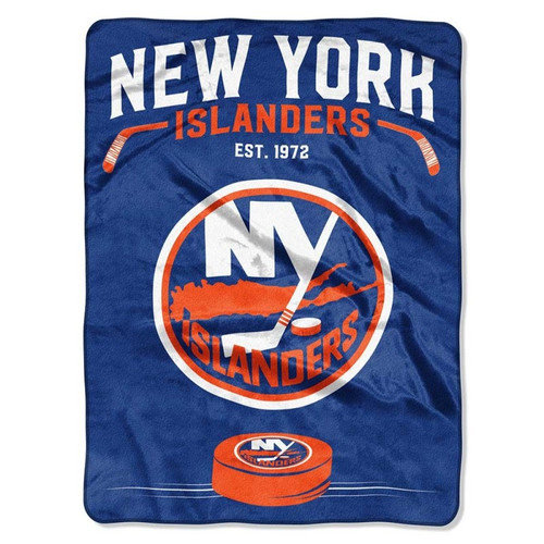 New York Islanders NHL Inspired Raschel Throw