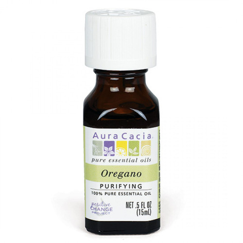 Aura Cacia Essential Oil - Oregano - 0.5 fl oz
