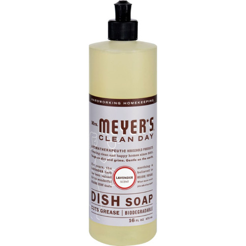 Mrs. Meyer's Clean Day Lavender Dish Soap 16 fl oz Case of 6