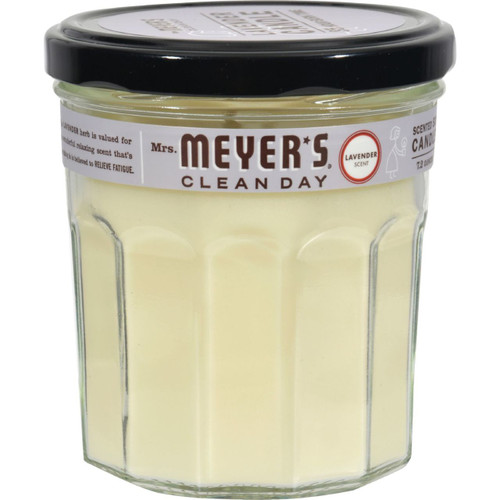 Mrs. Meyer's Clean Day Lavender Candle 7.2 oz Case of 6