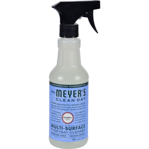 Mrs. Meyer's Clean Day Blubell Multi-Surface Cleaner 16 fl oz Case of 6