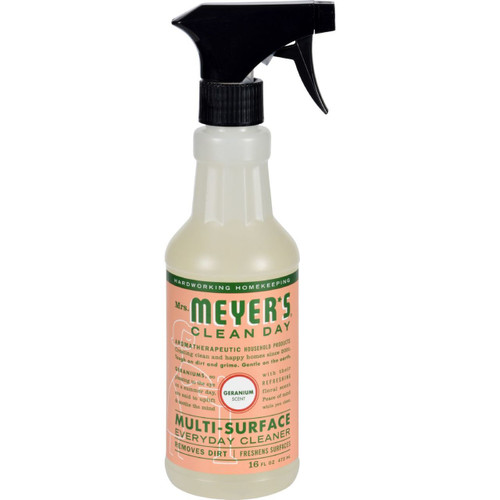 Mrs. Meyer's Clean Day Geranium Multi-Surface Cleaner 16 fl oz Case of 6