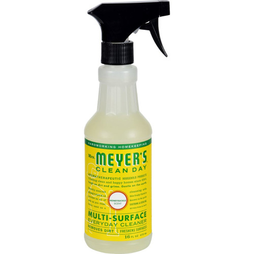 Mrs. Meyer's Clean Day Honeysuckle Multi-Surface Cleaner 16 fl oz Case of 6