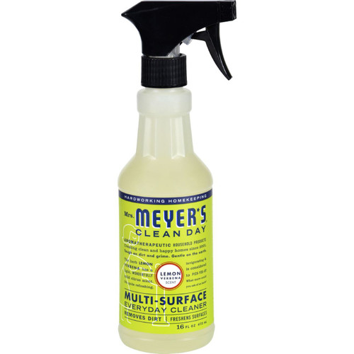 Mrs. Meyer's Clean Day Lemon Verbena Multi-Surface Cleaner 16 fl oz Case of 6