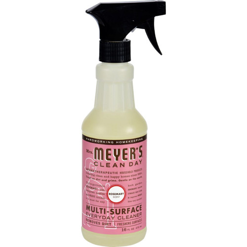 Mrs. Meyer's Clean Day Rosemary Multi-Surface Cleaner 16 fl oz Case of 6