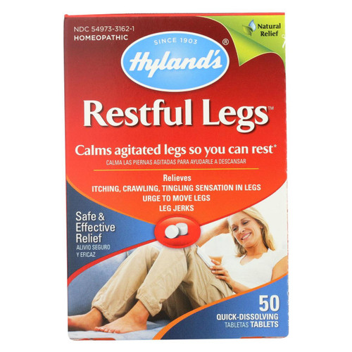 Hyland's Homeopathic Restful Legs 50 Tablets