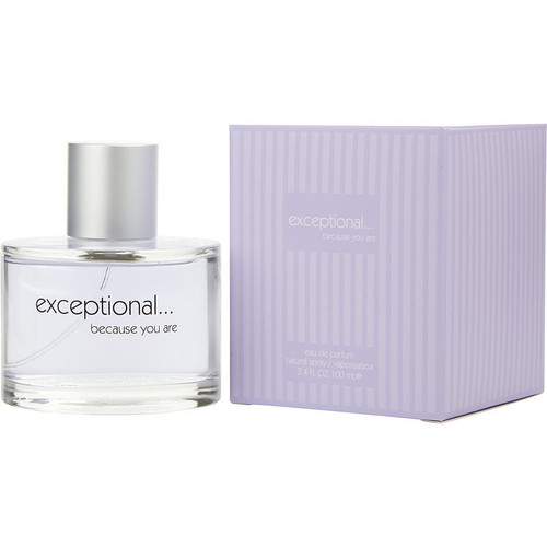 Exceptional Because You Are by Exceptional Parfums Eau De Parfum Spray 3.4 oz