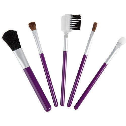 Exceptional Because You Are by Exceptional Parfums Set-5 Piece Travel Makeup Brush Set
