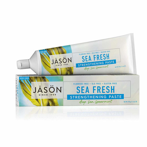 Jason Sea Fresh Natural Toothpaste Deep Sea Spearmint - 6 oz