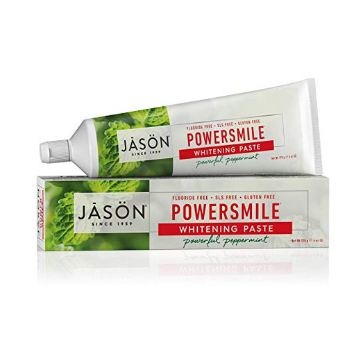 Jason Powersmile Whitening Paste Powerful Peppermint - 6 oz