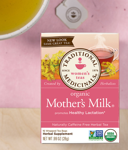 Traditional Medicinals Organic Mother's Milk Caffeine Free Tea - Case of 6