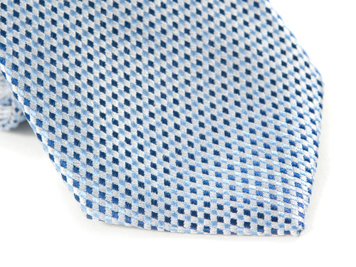 Jack Franklin Tiny Blue Diamonds Men's Tie