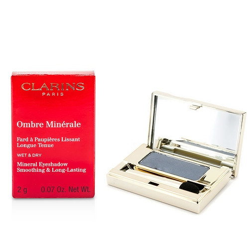 Clarins By Clarins Ombre Minerale Smoothing & Long Lasting Mineral Eyeshadow #10 Slate Blue 0.07oz