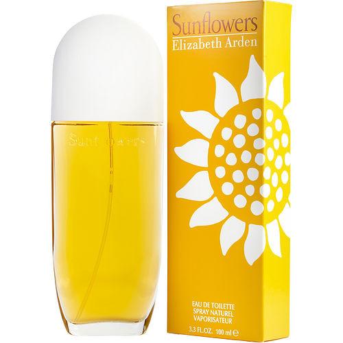 Sunflowers by Elizabeth Arden Eau De Toilette Spray 3.3 oz