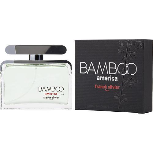 Franck Olivier Bamboo America by Franck Olivier Eau De Toilette Spray 2.5 oz