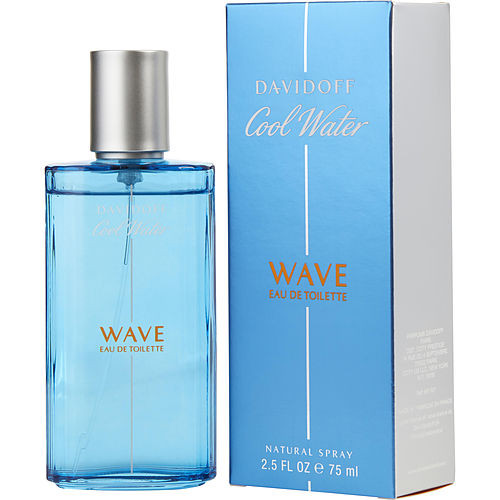 Cool Water Wave by Davidoff Eau De Toilette Spray 2.5 oz