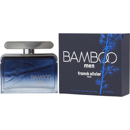 Franck Olivier Bamboo by Franck Olivier Eau De Toilette Spray 2.5 oz (New Packaging)
