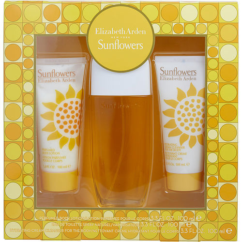Sunflowers By Elizabeth Arden Gift Set