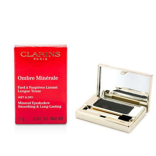 Clarins by Clarins Ombre Minerale Smoothing & Long Lasting Mineral Eyeshadow - # 15 Black Sparkle --2g/0.07oz