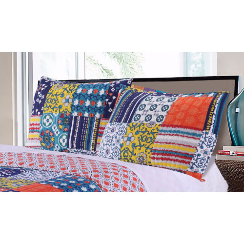 Arianna Cotton King Sham by Greenland Home Fashions, Multicolor