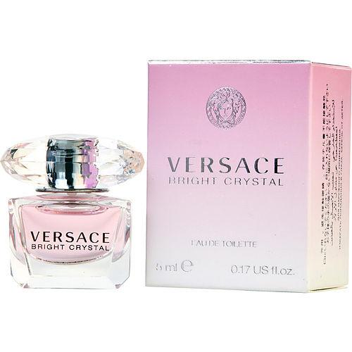 Versace Bright Crystal by Gianni Versace Mini Eau De Toilette 0.17 oz