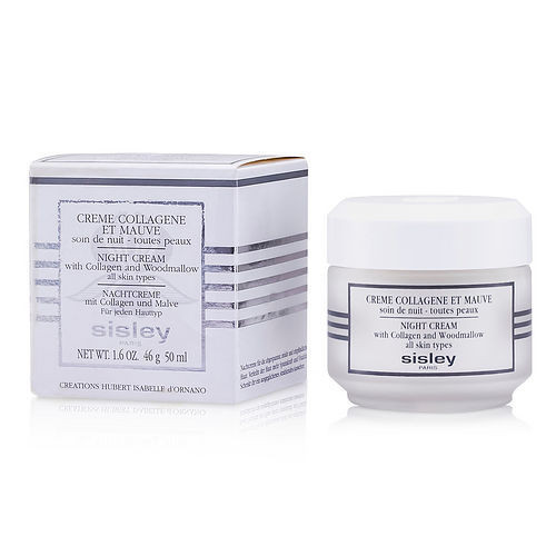 Sisley by Sisley Botanical Night Cream with Collagen & Woodmallow --50ml/1.6oz