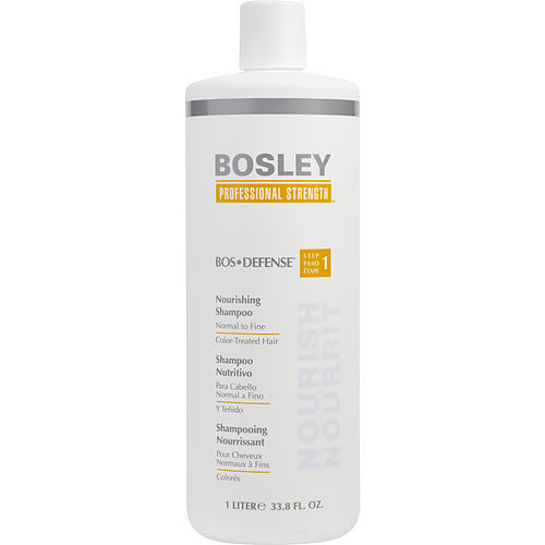 Bosley by Bosley BOS Defense Nourishing Shampoo Normal to Fine Color Treated Hair 33.8 oz