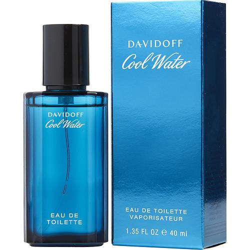 Cool Water by Davidoff Eau De Toilette Spray 1.3 oz