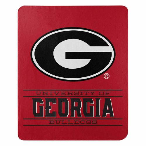 Georgia Bulldogs Control Fleece Throw Blanket