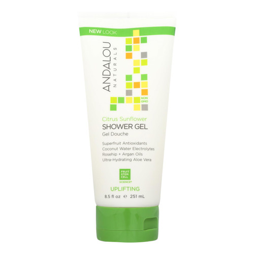 Andalou Naturals - Shower Gel Citrus Sunflower - 8.5 Fl oz