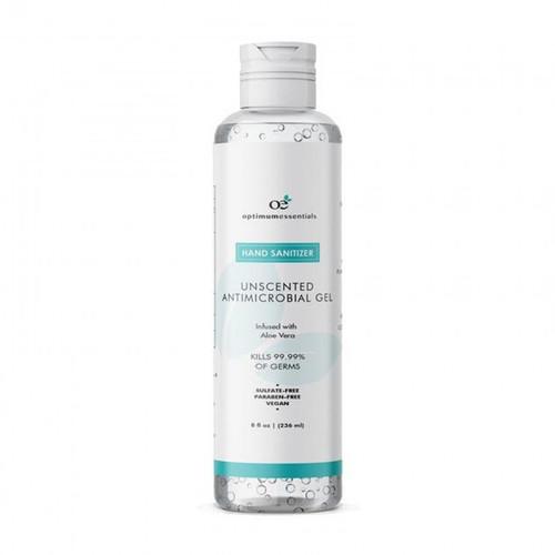 Optimum Essentials Hand Sanitizer - 8 Oz Unscented Bottle