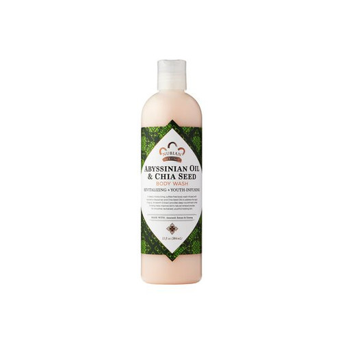 Nubian Heritage Abyssinian Oil and Chia Seed Body Wash - 13 Oz.