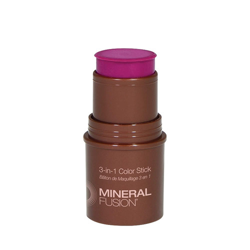Mineral Fusion 3-in-1 Color Stick Berry Glow - 0.18 Oz.