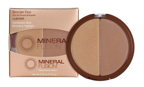 Mineral Fusion Luster Bronzer Duo - 0.29 Oz