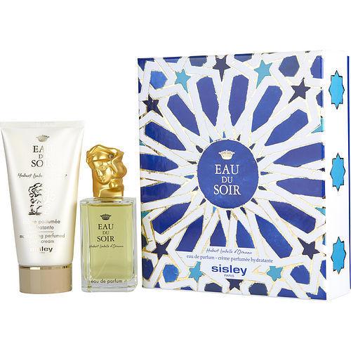 Eau Du Soir by Sisley Eau De Parfum Spray 3.3 oz & Body Cream 5 oz