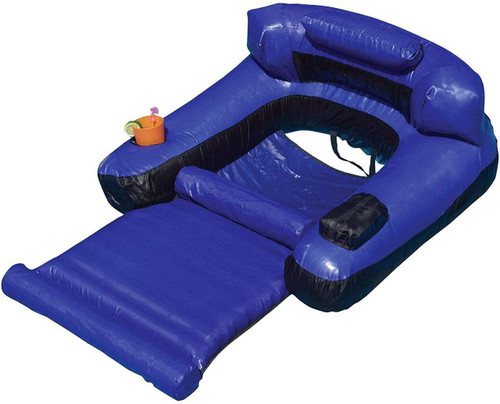 Swimline Ultimate Inflatable Floating Pool Lounge Chair