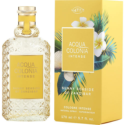 4711 Acqua Colonia Intense By 4711 Sunny Seaside Of Zanzibar Eau De Cologne Spray 5.7 Oz