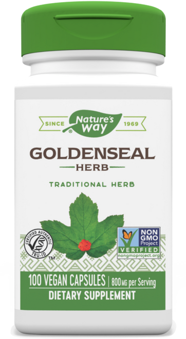 Nature's Way Goldenseal - 100 Capsules