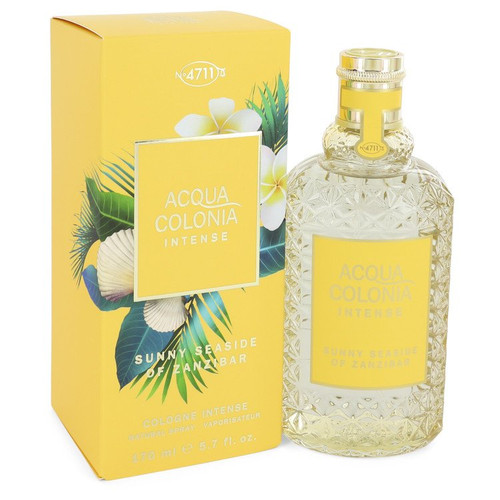 4711 Acqua Colonia Sunny Seaside of Zanzibar by 4711 Eau De Cologne Intense Spray (Unisex) 5.7 oz  for Women