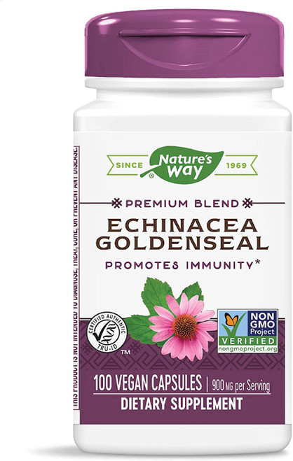 Nature's Way Echinacea Goldenseal - 100 Capsules