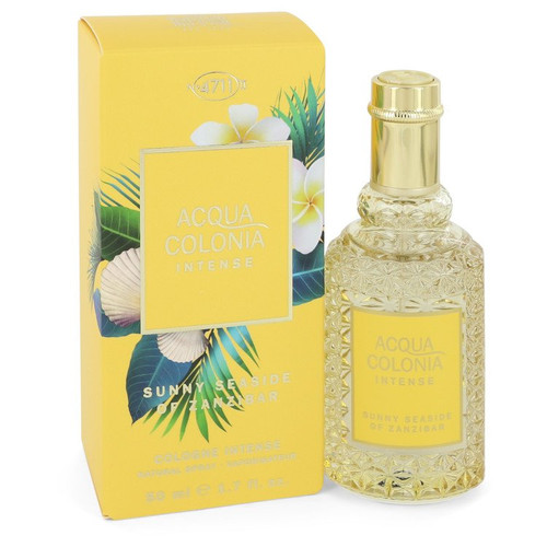 4711 Acqua Colonia Sunny Seaside of Zanzibar by 4711 Eau De Cologne Intense Spray (Unisex) 1.7 oz for Women