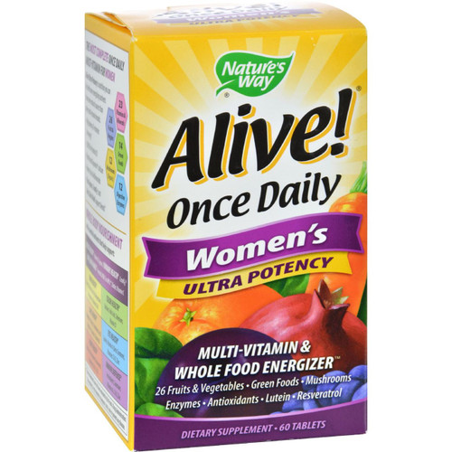 Nature's Way Alive Once Daily Women's Multi-Vitamin Ultra Potency