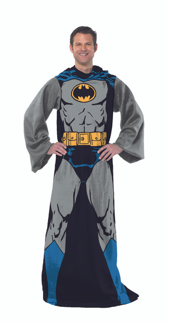 Batman Batman In Black Adult Comfy Throw