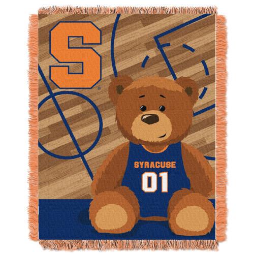 Syracuse Orange Fullback Baby Woven Jacquard Throw