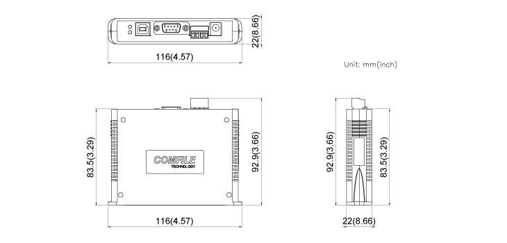 COMFILE Industrial controller MOACON
