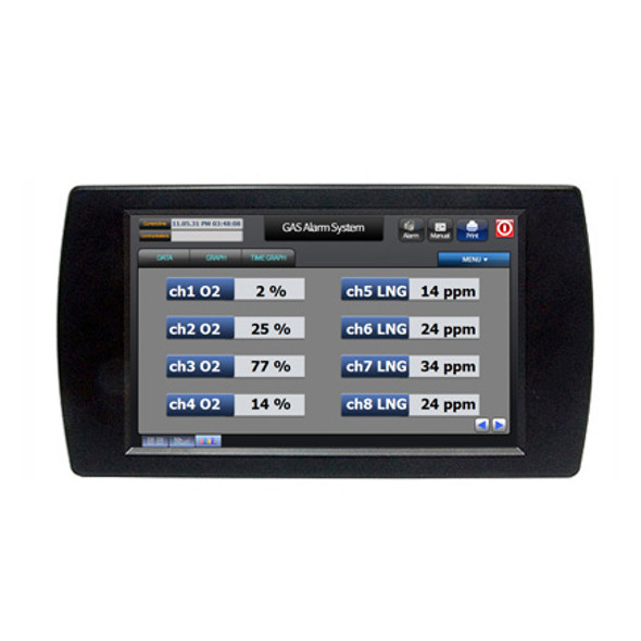 "CWA-070BR - 7"" Windows CE Industrial Panel PC (400MHz ARM9)"