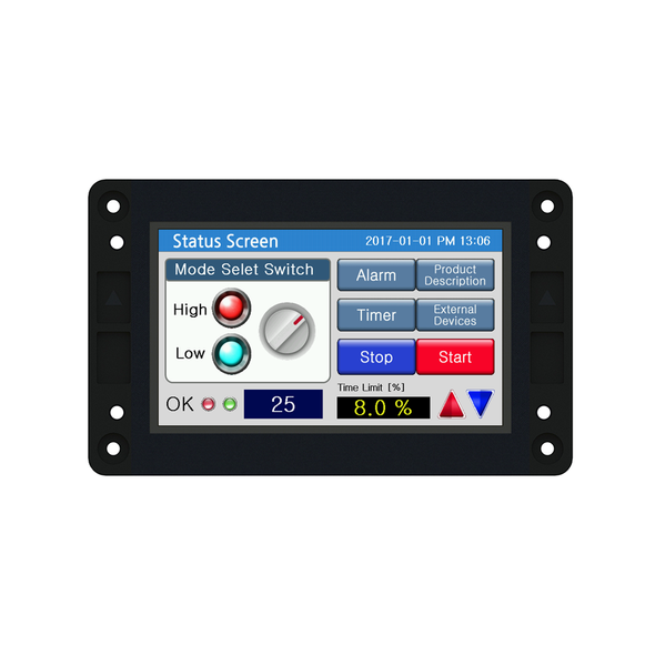 "CHA-043PR - 4.3"" Open-Frame Human Machine Interface (HMI)"