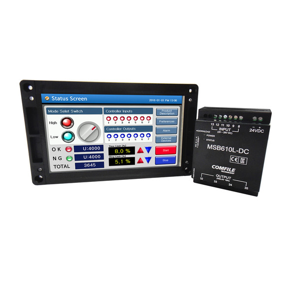 ComfileHMI Start KIT 1 (Human machine interface, HMI with PLC)